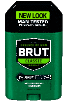BRUT Oval Stick Deodorant for Men 2 oz.