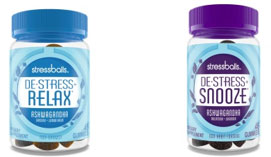 Stressballs De-Stress Gummies 46 ct